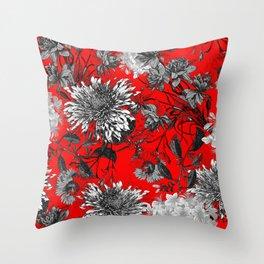Vintage Garden VIII Throw Pillow