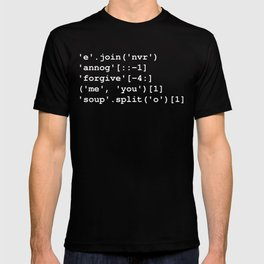 Rick Roll in Python T-shirt