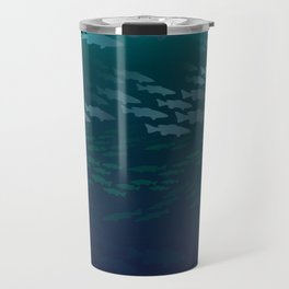 Fish Under The Storm Travel Mug