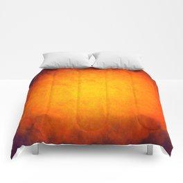 Big ball of fire Comforters