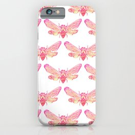 Summer Cicada – Pink Palette iPhone Case