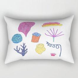 sea flora Rectangular Pillow