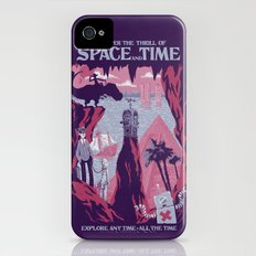 Space and Time iPhone (4, 4s) Slim Case