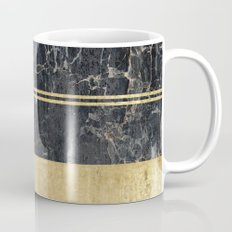 marble in gOld Mug