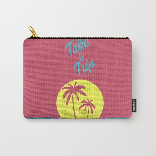 Take A Trip  Carry-All Pouch