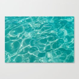 Cabo Water II Canvas Print