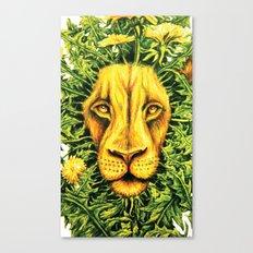 Dandylion ZOOM Canvas Print