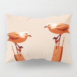 Monochrome - Seagull Pillow Sham