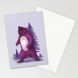 Scare Bear Stationery Cards