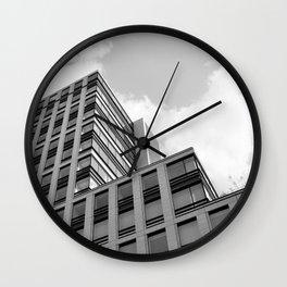 Modern Building Wall Clock