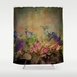 Flowers have music for those who will listen Shower Curtain