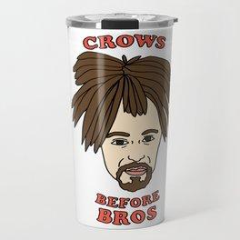 Crows Before Bros Travel Mug