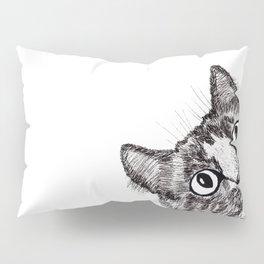 Hey! Cat! Pillow Sham