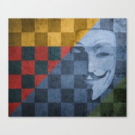 Patchwork 2: The Quickening Reloaded Canvas Print