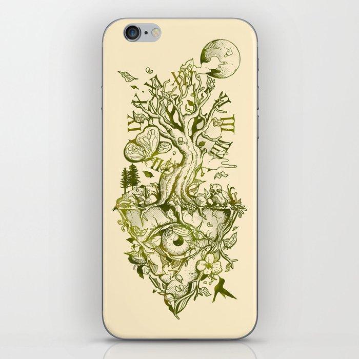 A Glimpse in Time iPhone Skin