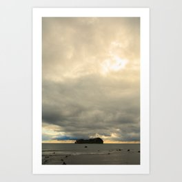 Isolated island Art Print