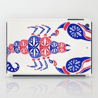 patriotic iPad Cases featuring Patriotic Scorpion by Cat Coquillette