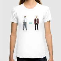 tyler durden T-shirts featuring F. C. - Narrator and Tyler Durden by V.L4B