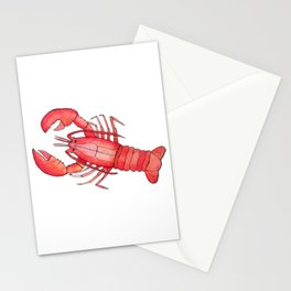 Lobster: Fish of the World Stationery Cards