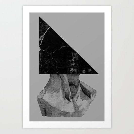 A Triangle Art Print
