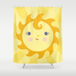 Sunny Sunshine Shower Curtain