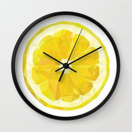 Lemon Slice Wall Clock