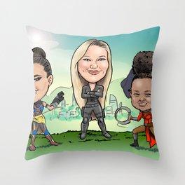 Sheppard Girl Power Throw Pillow