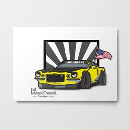 Hoonigan Camaro Metal Print
