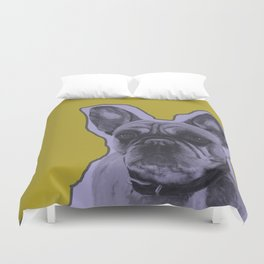 The Big Little Guy Duvet Cover