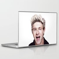 niall horan Laptop & iPad Skins featuring Niall Horan - One Direction by jrrrdan