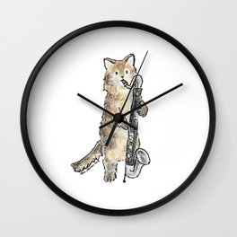 Reed Meowtet: Guster Wall Clock