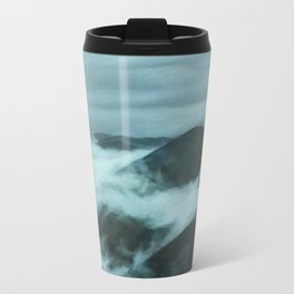 Clouds in the Mountains Travel Mug