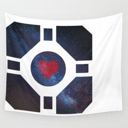 Portal Companion Cube Wall Tapestry