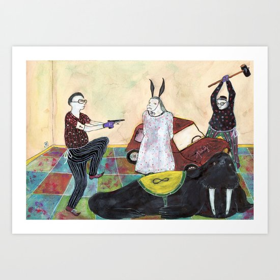 Special Room XII Art Print