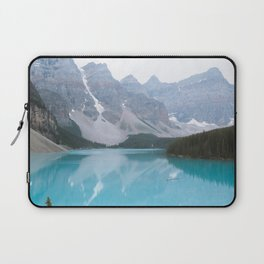 Moraine Lake reflections Laptop Sleeve