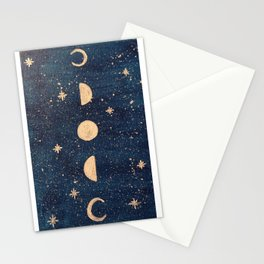 Phases of the Moon Stationery Cards