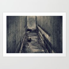 Lost and Forgotten Art Print