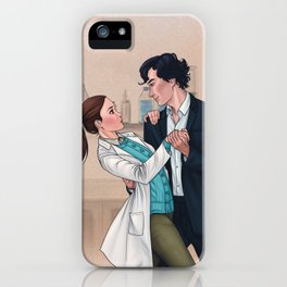 Sherlolly - Dancing in the Lab iPhone Case