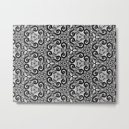 Mesmerizing Mandala Patterns Metal Print