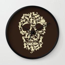 Catskull Wall Clock