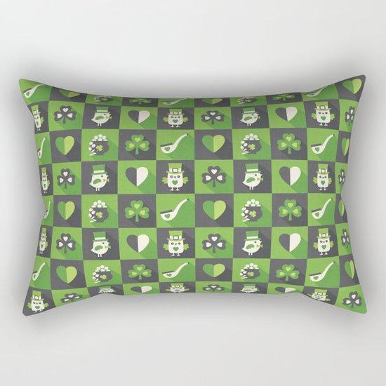 IRISH EYES ARE SMILING Rectangular Pillow