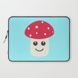 Cute red mushroom Laptop Sleeve