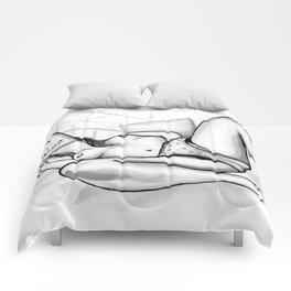 How to Love Yourself - Erotic Art Illustration Nude Sex Sexual Love Selflove Selfpleasure Drawing Comforters