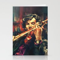 cumberbatch Stationery Cards featuring Virtuoso by Alice X. Zhang