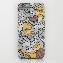 Canadian Coins iPhone Case