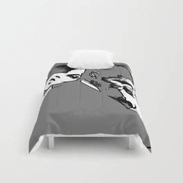 Comfort in Black and White Comforters