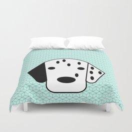 Pop Dog Dalmatian Duvet Cover