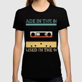 80s 90s Cassette Tape Retro T-shirt