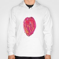 artsy Hoodies featuring Artsy Heart by Ingrid Padilla