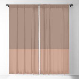 GRANITE x LIGHT SIENNA Blackout Curtain